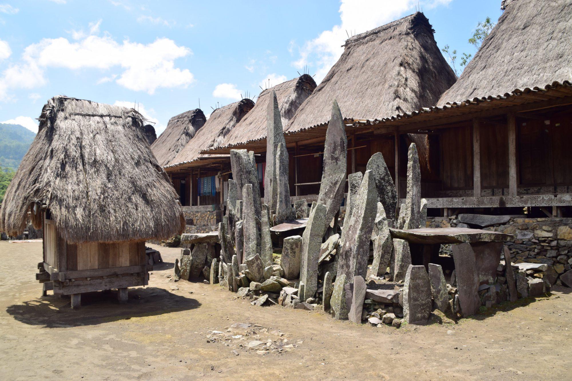 Bena Traditional Village, Flores, Indonesia