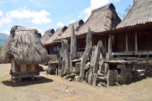 Bena Traditional Village, Flores, Indonesia