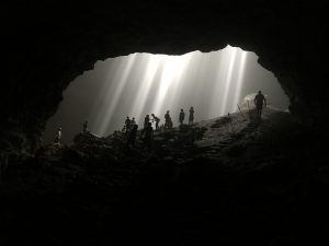Jomblang cave, Central Java, Indonesia